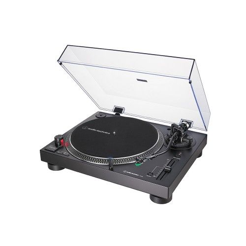 AT-LP-120XUSB  BLACK Manual  3 speed Direct Drive Turntable with Cartridge