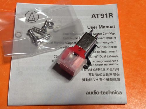 Audio Technica AT91R  Cartridge with Stylus