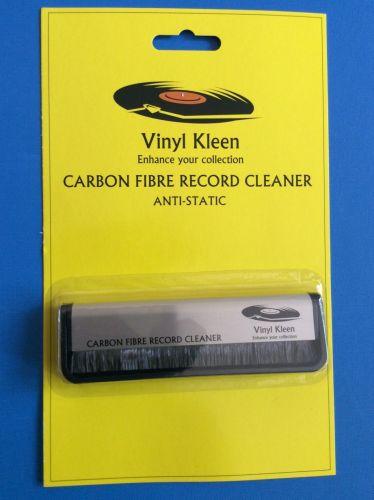 Vinyl KLEEN  Carbon Fibre Anti static Vinyl Record Cleaner Brush