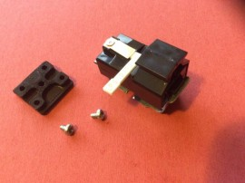 Original BSR SX6M Crystal STEREO Cartridge