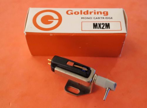 GOLDRING MX2M  Crystal MONO Turnover Cartridge with LP/78 Styli