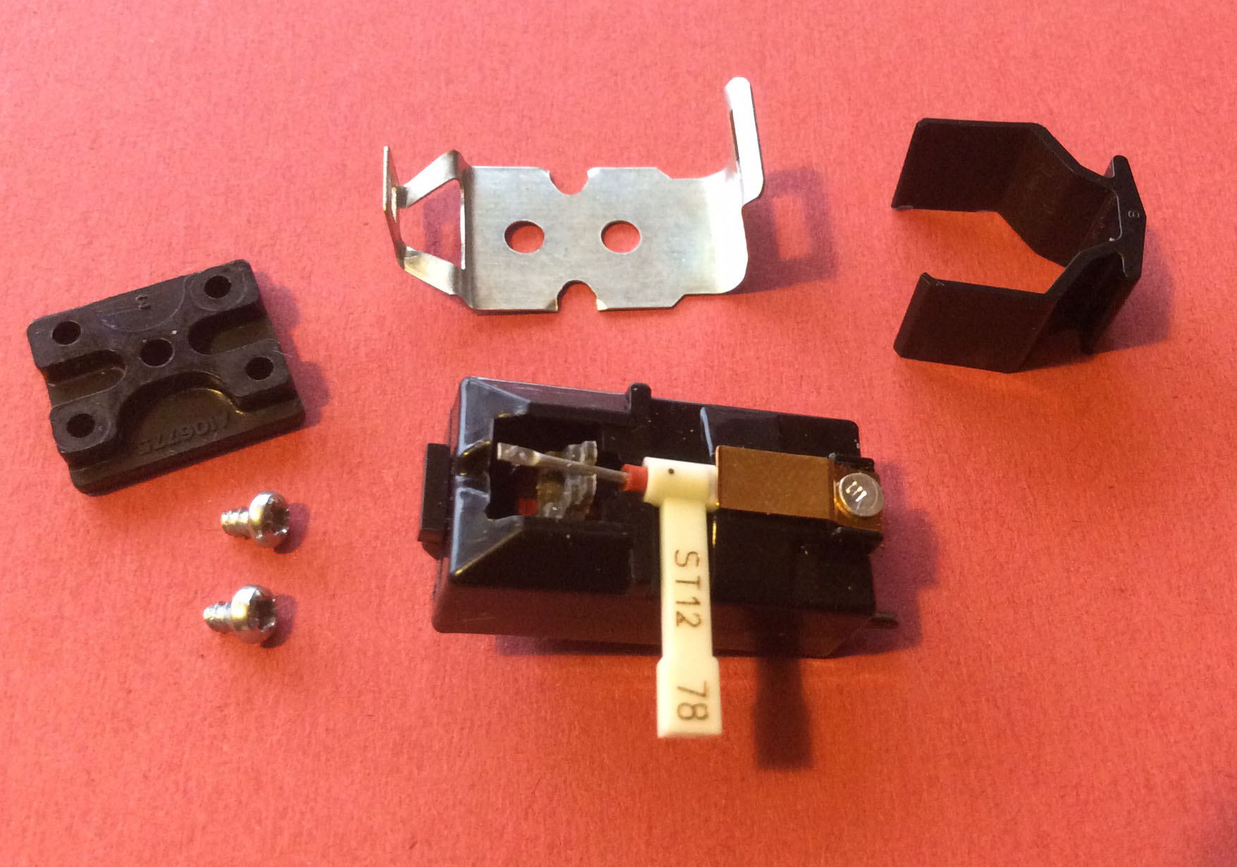 Bsr X5m Crystal Mono Cartridge With Lp 78 Stylus